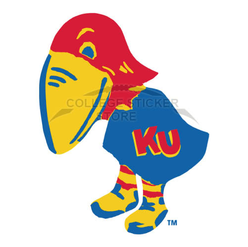 Design Kansas Jayhawks Iron-on Transfers (Wall Stickers)NO.4700