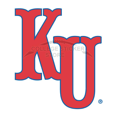 Design Kansas Jayhawks Iron-on Transfers (Wall Stickers)NO.4704