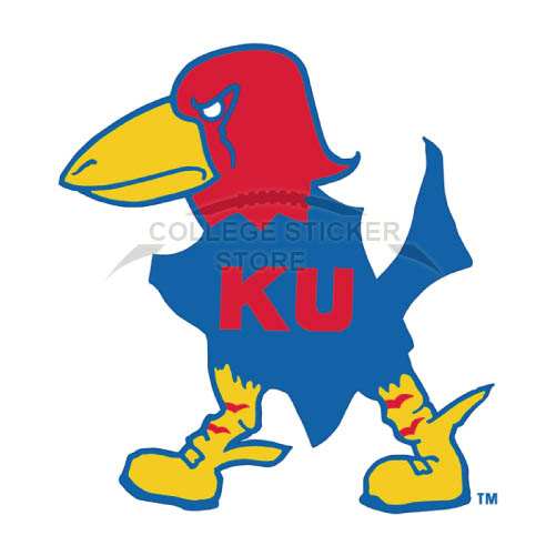 Design Kansas Jayhawks Iron-on Transfers (Wall Stickers)NO.4705