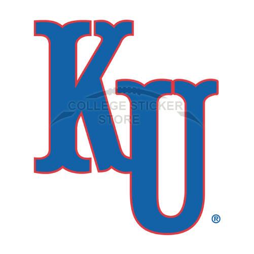 Design Kansas Jayhawks Iron-on Transfers (Wall Stickers)NO.4706