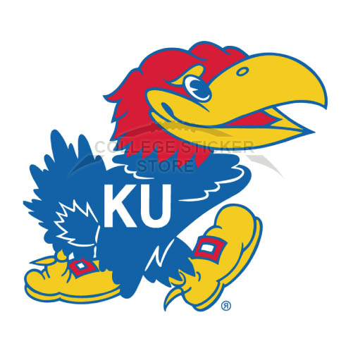 Design Kansas Jayhawks Iron-on Transfers (Wall Stickers)NO.4707