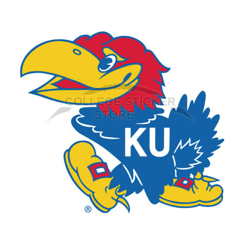 Design Kansas Jayhawks Iron-on Transfers (Wall Stickers)NO.4709