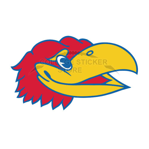Design Kansas Jayhawks Iron-on Transfers (Wall Stickers)NO.4710