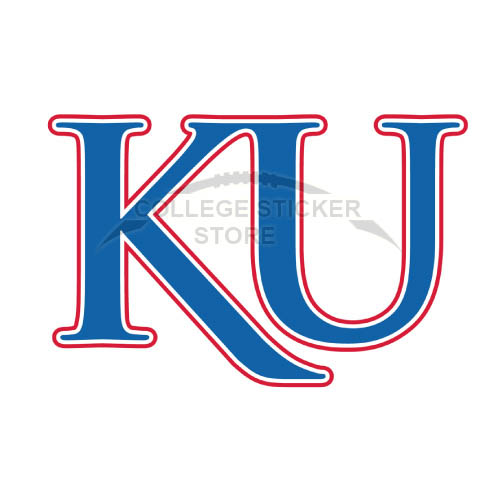 Design Kansas Jayhawks Iron-on Transfers (Wall Stickers)NO.4711