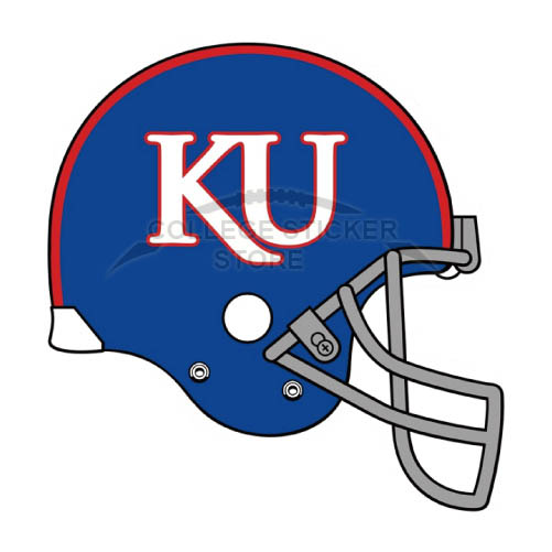 Design Kansas Jayhawks Iron-on Transfers (Wall Stickers)NO.4712