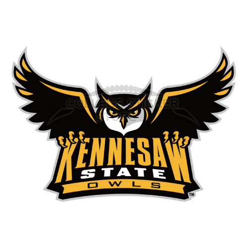 Design Kennesaw State Owls Iron-on Transfers (Wall Stickers)NO.4723