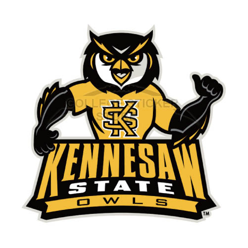 Design Kennesaw State Owls Iron-on Transfers (Wall Stickers)NO.4736