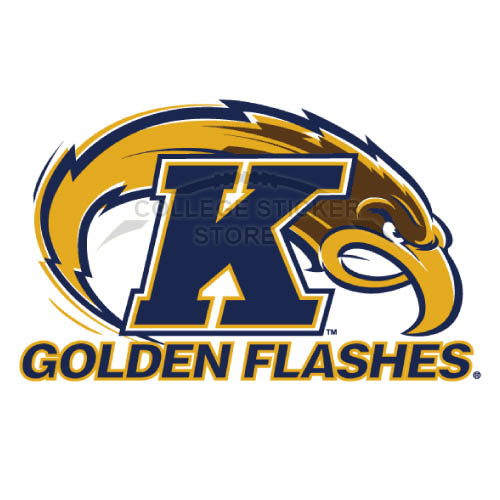 Design Kent State Golden Flashes Iron-on Transfers (Wall Stickers)NO.4738