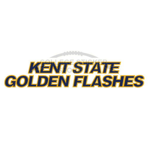 Design Kent State Golden Flashes Iron-on Transfers (Wall Stickers)NO.4739