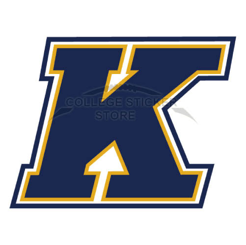 Design Kent State Golden Flashes Iron-on Transfers (Wall Stickers)NO.4740