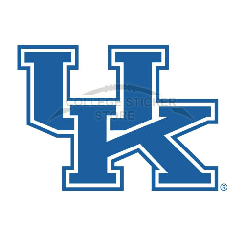 Design Kentucky Wildcats Iron-on Transfers (Wall Stickers)NO.4744