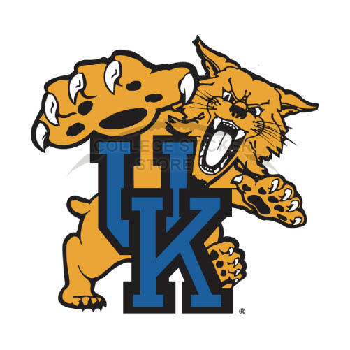 Design Kentucky Wildcats Iron-on Transfers (Wall Stickers)NO.4747