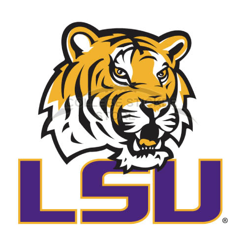 Design LSU Tigers Iron-on Transfers (Wall Stickers)NO.4908
