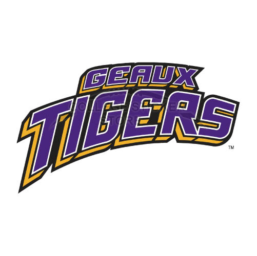 Design LSU Tigers Iron-on Transfers (Wall Stickers)NO.4909