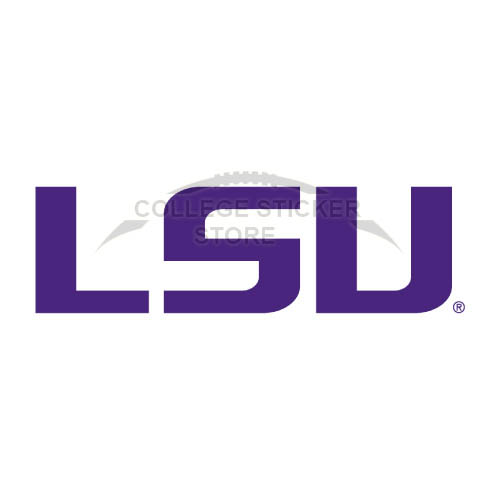 Design LSU Tigers Iron-on Transfers (Wall Stickers)NO.4912