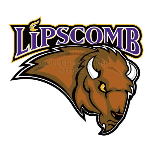 Design Lipscomb Bisons Iron-on Transfers (Wall Stickers)NO.4794