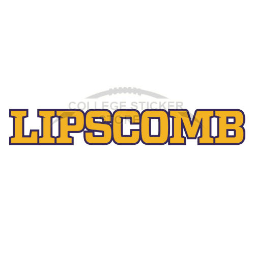 Design Lipscomb Bisons Iron-on Transfers (Wall Stickers)NO.4795