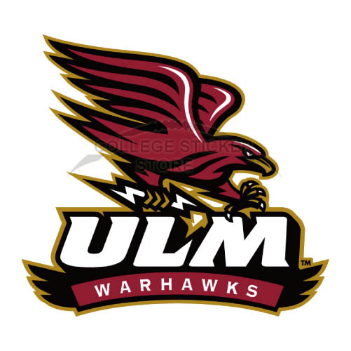 Design Louisiana Monroe Warhawks Iron-on Transfers (Wall Stickers)NO.4822