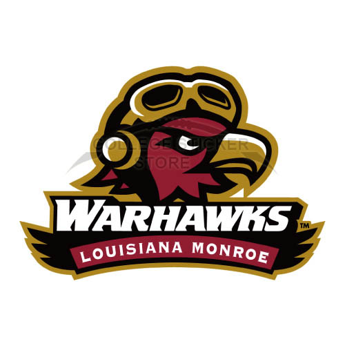 Design Louisiana Monroe Warhawks Iron-on Transfers (Wall Stickers)NO.4833