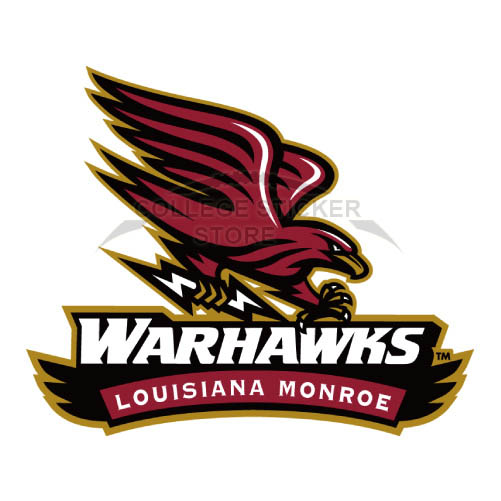 Design Louisiana Monroe Warhawks Iron-on Transfers (Wall Stickers)NO.4835