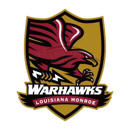 Design Louisiana Monroe Warhawks Iron-on Transfers (Wall Stickers)NO.4838