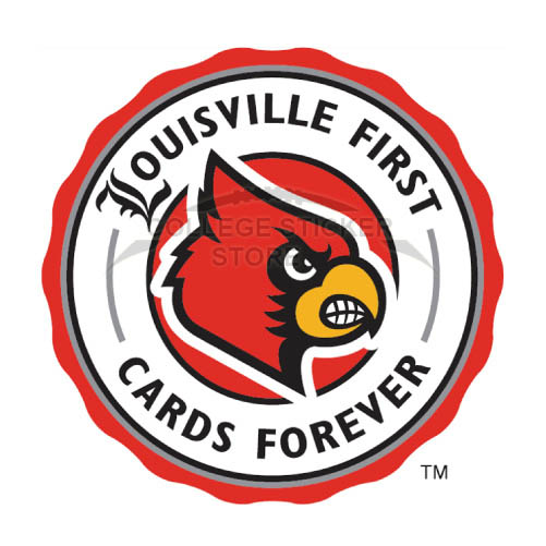 Design Louisville Cardinals Iron-on Transfers (Wall Stickers)NO.4875
