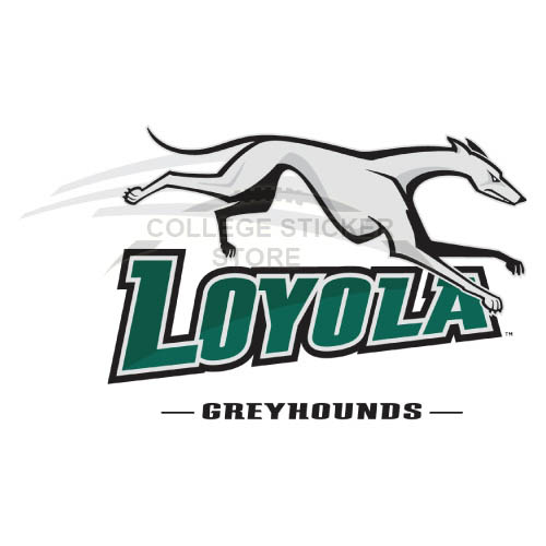 Design Loyola Maryland Greyhounds Iron-on Transfers (Wall Stickers)NO.4883