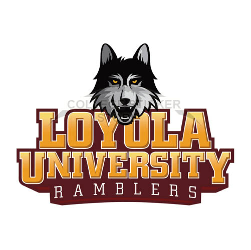 Design Loyola Ramblers Iron-on Transfers (Wall Stickers)NO.4905