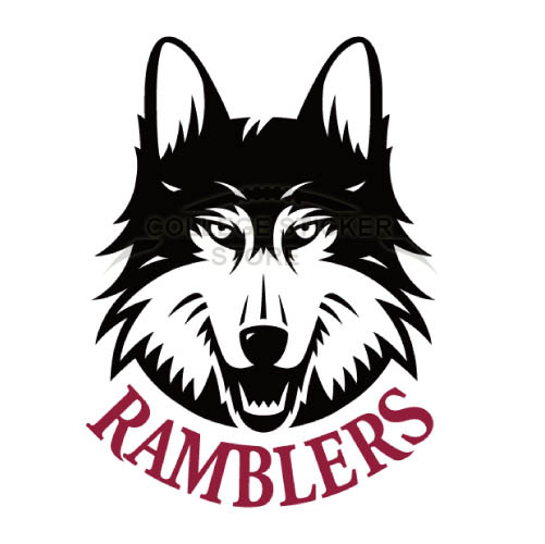 Design Loyola Ramblers Iron-on Transfers (Wall Stickers)NO.4906