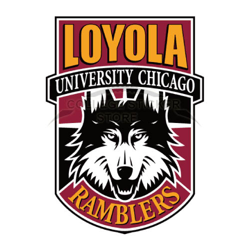 Design Loyola Ramblers Iron-on Transfers (Wall Stickers)NO.4907