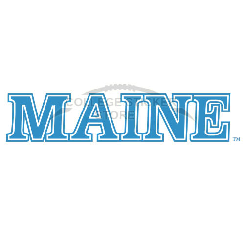 Design Maine Black Bears Iron-on Transfers (Wall Stickers)NO.4941