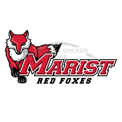 Design Marist Red Foxes Iron-on Transfers (Wall Stickers)NO.4957
