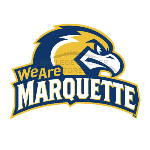 Design Marquette Golden Eagles Iron-on Transfers (Wall Stickers)NO.4961
