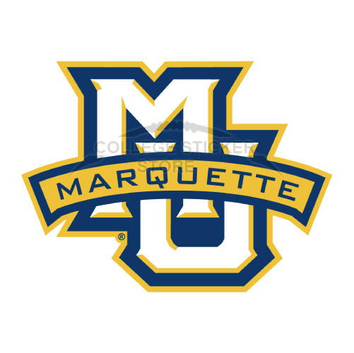 Design Marquette Golden Eagles Iron-on Transfers (Wall Stickers)NO.4962