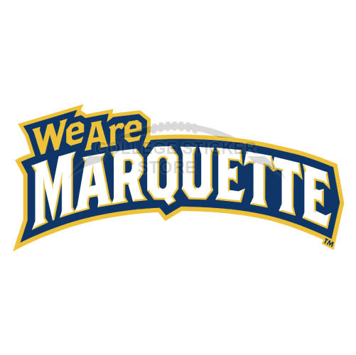 Design Marquette Golden Eagles Iron-on Transfers (Wall Stickers)NO.4965