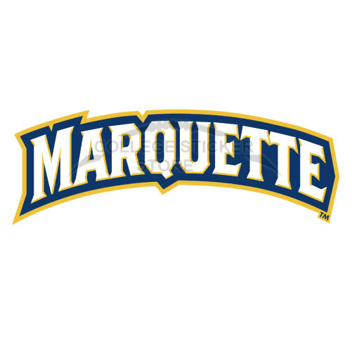 Design Marquette Golden Eagles Iron-on Transfers (Wall Stickers)NO.4970