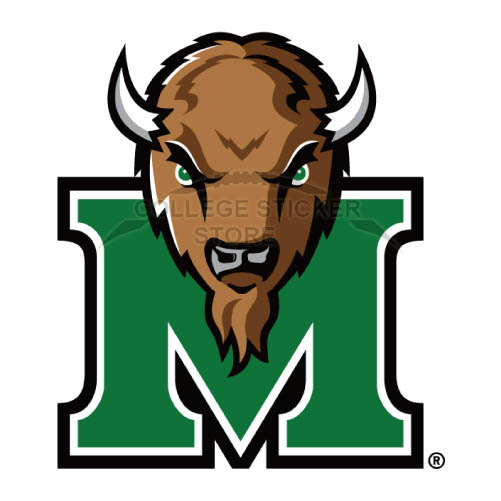 Design Marshall Thundering Herd Iron-on Transfers (Wall Stickers)NO.4978