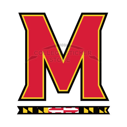Personal Maryland Terrapins Iron-on Transfers (Wall Stickers)NO.4988