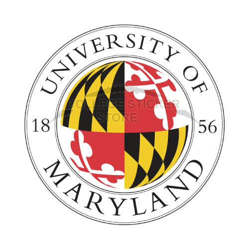 Personal Maryland Terrapins Iron-on Transfers (Wall Stickers)NO.4993