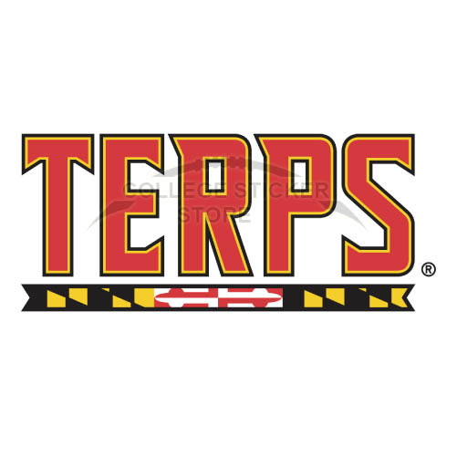 Personal Maryland Terrapins Iron-on Transfers (Wall Stickers)NO.4995