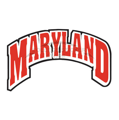 Personal Maryland Terrapins Iron-on Transfers (Wall Stickers)NO.4997