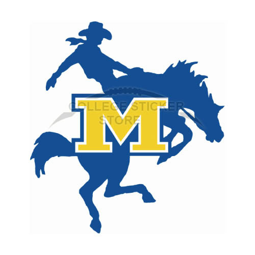 Personal McNeese State Cowboys Iron-on Transfers (Wall Stickers)NO.5012