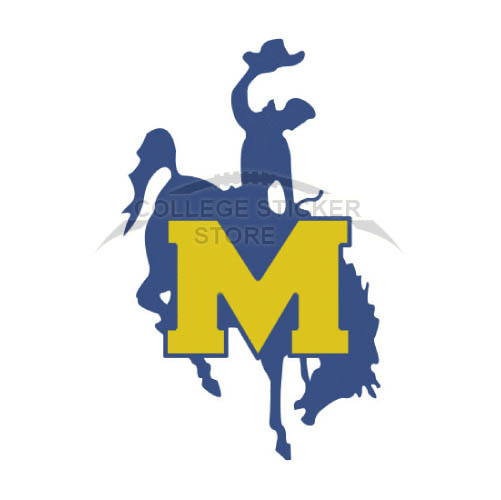Personal McNeese State Cowboys Iron-on Transfers (Wall Stickers)NO.5013