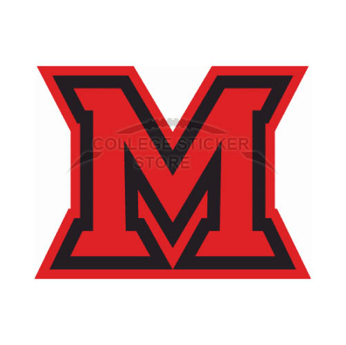 Personal Miami Ohio Redhawks Iron-on Transfers (Wall Stickers)NO.5049