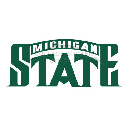 Personal Michigan State Spartans Iron-on Transfers (Wall Stickers)NO.5058