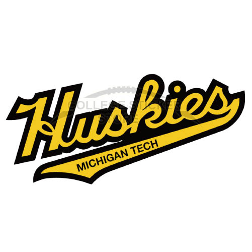 Personal Michigan Tech Huskies Iron-on Transfers (Wall Stickers)NO.5063