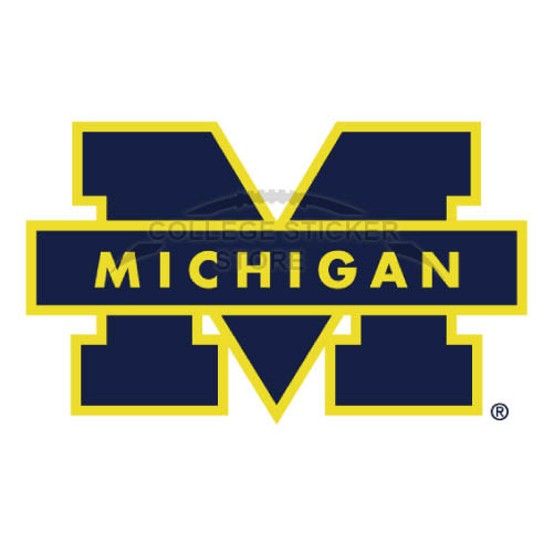 Personal Michigan Wolverines Iron-on Transfers (Wall Stickers)NO.5067