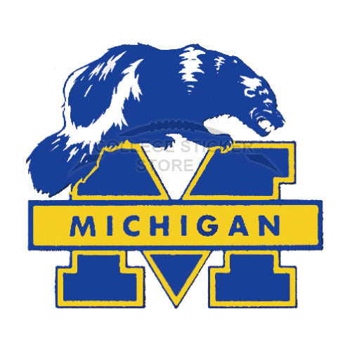 Personal Michigan Wolverines Iron-on Transfers (Wall Stickers)NO.5068