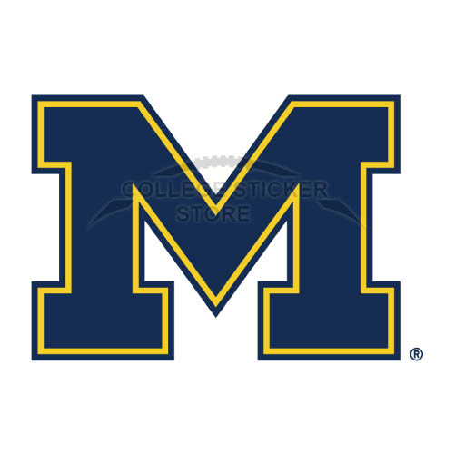 Personal Michigan Wolverines Iron-on Transfers (Wall Stickers)NO.5069