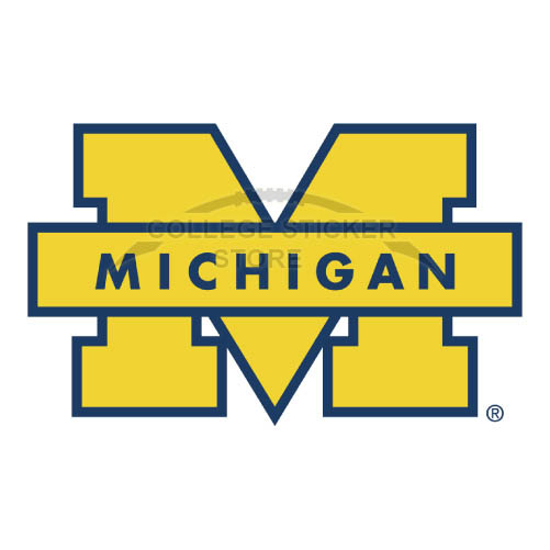 Personal Michigan Wolverines Iron-on Transfers (Wall Stickers)NO.5071